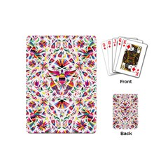 Otomi Vector Patterns On Behance Playing Cards (mini)