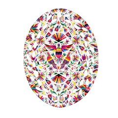 Otomi Vector Patterns On Behance Ornament (oval Filigree) by Nexatart