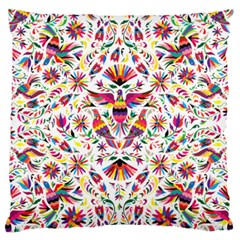 Otomi Vector Patterns On Behance Large Flano Cushion Case (two Sides) by Nexatart