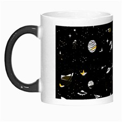Space Pattern Morph Mugs by ValentinaDesign