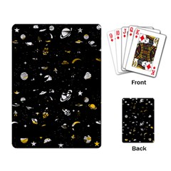Space Pattern Playing Card by ValentinaDesign