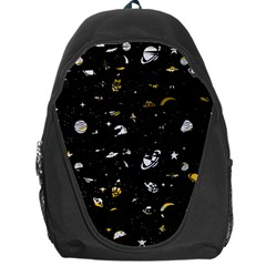 Space Pattern Backpack Bag by ValentinaDesign