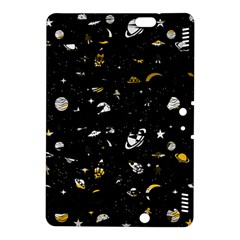 Space Pattern Kindle Fire Hdx 8 9  Hardshell Case by ValentinaDesign