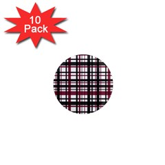Plaid Pattern 1  Mini Magnet (10 Pack)  by ValentinaDesign
