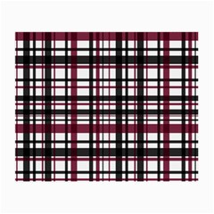 Plaid Pattern Small Glasses Cloth (2 Side)