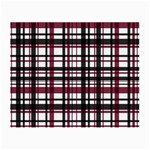 Plaid pattern Small Glasses Cloth (2-Side) Back