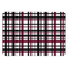 Plaid Pattern Samsung Galaxy Tab 8 9  P7300 Flip Case by ValentinaDesign