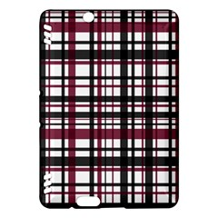 Plaid Pattern Kindle Fire Hdx Hardshell Case by ValentinaDesign