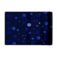 Decorative dots pattern Apple iPad Mini Flip Case by ValentinaDesign
