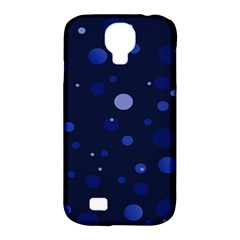 Decorative Dots Pattern Samsung Galaxy S4 Classic Hardshell Case (pc+silicone) by ValentinaDesign