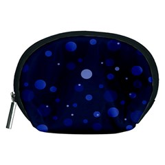Decorative Dots Pattern Accessory Pouches (medium)  by ValentinaDesign