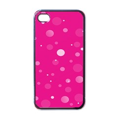 Decorative Dots Pattern Apple Iphone 4 Case (black) by ValentinaDesign