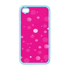 Decorative Dots Pattern Apple Iphone 4 Case (color) by ValentinaDesign