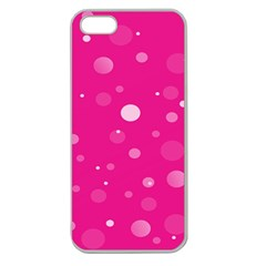Decorative Dots Pattern Apple Seamless Iphone 5 Case (clear) by ValentinaDesign