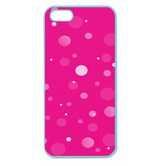 Decorative Dots Pattern Apple Seamless Iphone 5 Case (color) by ValentinaDesign