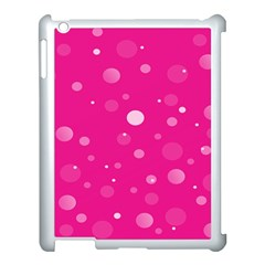Decorative Dots Pattern Apple Ipad 3/4 Case (white) by ValentinaDesign