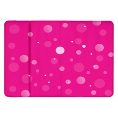Decorative Dots Pattern Samsung Galaxy Tab 8 9  P7300 Flip Case by ValentinaDesign