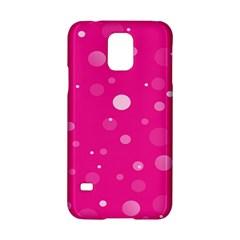 Decorative Dots Pattern Samsung Galaxy S5 Hardshell Case  by ValentinaDesign