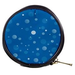 Decorative Dots Pattern Mini Makeup Bags by ValentinaDesign