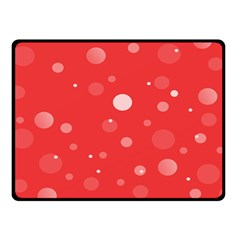 Decorative Dots Pattern Fleece Blanket (small) by ValentinaDesign
