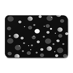 Decorative Dots Pattern Plate Mats by ValentinaDesign
