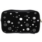 Decorative dots pattern Toiletries Bags 2-Side Front