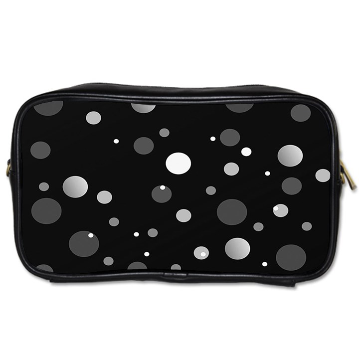 Decorative dots pattern Toiletries Bags 2-Side
