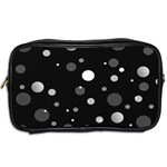 Decorative dots pattern Toiletries Bags 2-Side Back