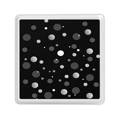 Decorative Dots Pattern Memory Card Reader (square)  by ValentinaDesign