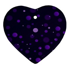 Decorative Dots Pattern Ornament (heart) by ValentinaDesign