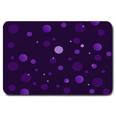 Decorative Dots Pattern Large Doormat  by ValentinaDesign