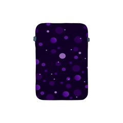 Decorative Dots Pattern Apple Ipad Mini Protective Soft Cases by ValentinaDesign