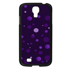 Decorative Dots Pattern Samsung Galaxy S4 I9500/ I9505 Case (black) by ValentinaDesign