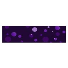 Decorative Dots Pattern Satin Scarf (oblong) by ValentinaDesign