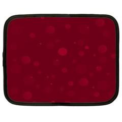 Decorative Dots Pattern Netbook Case (xxl)  by ValentinaDesign