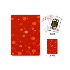 Decorative Dots Pattern Playing Cards (mini)  by ValentinaDesign