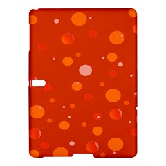 Decorative Dots Pattern Samsung Galaxy Tab S (10 5 ) Hardshell Case  by ValentinaDesign
