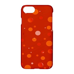 Decorative Dots Pattern Apple Iphone 7 Hardshell Case by ValentinaDesign