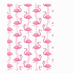 Pink Flamingos Pattern Small Garden Flag (two Sides)