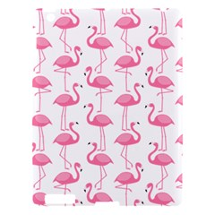 Pink Flamingos Pattern Apple Ipad 3/4 Hardshell Case by Nexatart