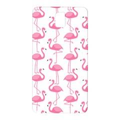 Pink Flamingos Pattern Samsung Galaxy Note 3 N9005 Hardshell Back Case