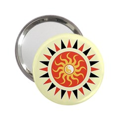 Yin Yang Sunshine 2 25  Handbag Mirrors by linceazul