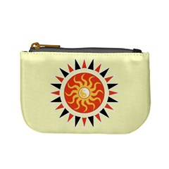 Yin Yang Sunshine Mini Coin Purses by linceazul