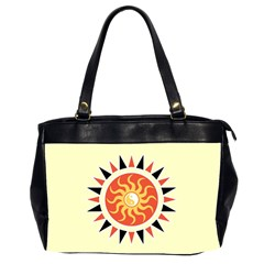Yin Yang Sunshine Office Handbags (2 Sides)  by linceazul