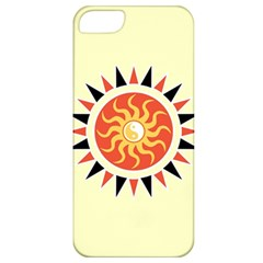 Yin Yang Sunshine Apple Iphone 5 Classic Hardshell Case by linceazul