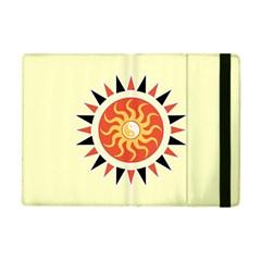 Yin Yang Sunshine Apple Ipad Mini Flip Case by linceazul