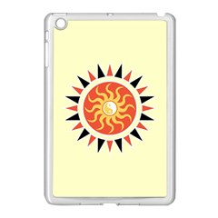 Yin Yang Sunshine Apple Ipad Mini Case (white) by linceazul