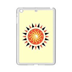Yin Yang Sunshine Ipad Mini 2 Enamel Coated Cases by linceazul