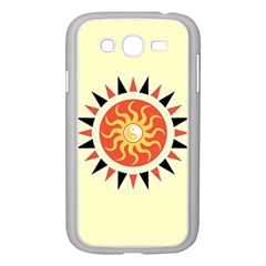 Yin Yang Sunshine Samsung Galaxy Grand Duos I9082 Case (white) by linceazul