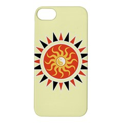 Yin Yang Sunshine Apple Iphone 5s/ Se Hardshell Case by linceazul